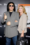 Gene Simmons and Shannon Tweed Stock Image