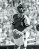 Gene Tenace. San Diego Padres catcher Gene Tenace. (Image taken from B&W negative stock photos