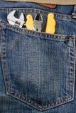 Gene Tool Bag Imagen de archivo libre de regalías