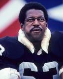 Gene Upshaw. Oakland Raiders legend Gene Upshaw. (Image taken from color slide royalty free stock image