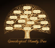 Genealogical family tree. Dynasty. Vector illustration. Genealogical family tree on a dark background. Dynasty. Vector illustration vector illustration