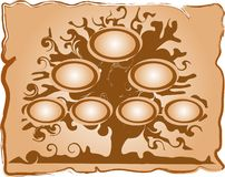 Genealogical tree Royalty Free Stock Images
