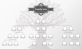 Genealogische boom van uw familie Royalty-vrije Stock Afbeelding