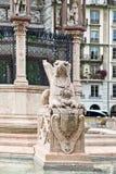 genebra Grifo perto do mausoléu em honra de Duke Charles de B Foto de Stock