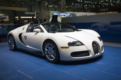 Genebra Motorshow 2009 - Bugatti Foto de Stock Royalty Free