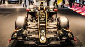Genebra Motorshow 2012 - carro de competência dos lótus Foto de Stock Royalty Free