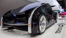 Genebra Motorshow 2012 - carro do conceito de Toyota Diji Foto de Stock