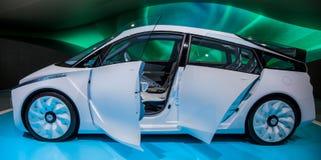 Genebra Motorshow 2012 - carro do conceito de Toyota FT-BH Foto de Stock