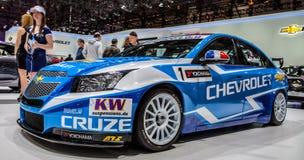 Genebra Motorshow 2012 - Chevrolet Fotografia de Stock