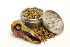 Geneeskrachtige marihuana Stock Afbeelding
