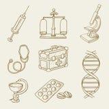 Geneeskunde Royalty-vrije Stock Afbeelding