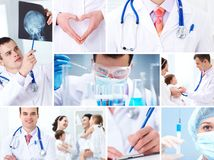Geneeskunde en gezondheidszorg Stock Fotografie