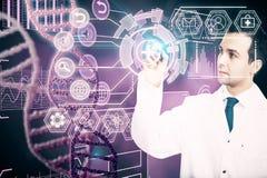 Geneeskunde en toekomstig concept Royalty-vrije Stock Afbeelding