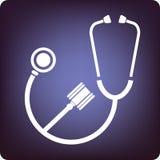 Geneeskunde en wet Stock Afbeelding