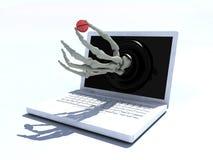 Geneeskunde online concept stock illustratie