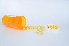 Geneeskunde, pillen Stock Afbeelding