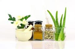 Geneeskunde van natuurlijke producten royalty-vrije stock afbeelding