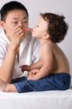 Geneeskunde voor childs. Royalty-vrije Stock Foto