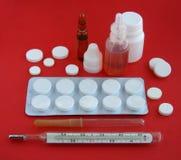 Geneesmiddelen. Stock Foto's