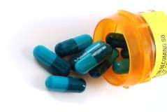 Geneesmiddelen en drugs Royalty-vrije Stock Foto's