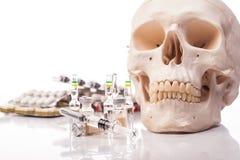 Geneesmiddelen en drugs Stock Foto