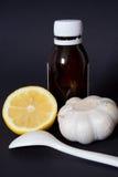 Geneesmiddelen thuis Stock Foto's