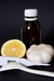 Geneesmiddelen thuis Stock Foto