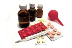 Geneesmiddelen in voorraad Stock Fotografie