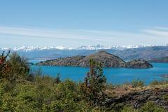 Generał Carrera jezioro zdjęcia royalty free