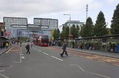 Generała Gordon kwadrat w Woolwich, Londyn zdjęcie royalty free