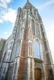 Generała krajobrazu widoki w tradycyjnym Holenderskim kościół Fotografia Stock
