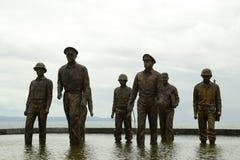 Generała mcArthur ` s statua fotografia royalty free