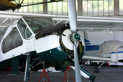 Generała wsparcia samolotu utrzymanie zdjęcia stock