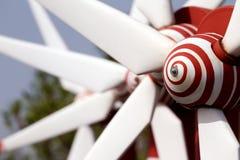 Generación de los molinoes de viento Imagen de archivo libre de regalías