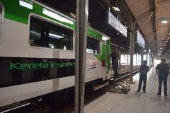 Generación 2 del tren de Inpeksi Imagenes de archivo