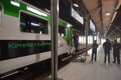 Generación 2 del tren de Inpeksi Fotos de archivo libres de regalías