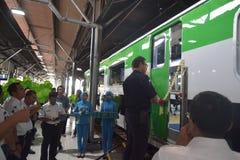 Generación 2 del tren de Inpeksi Foto de archivo