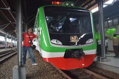 Generación 2 del tren de Inpeksi Fotografía de archivo libre de regalías