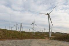 Generación verde de la energía imagenes de archivo