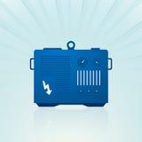 Generador azul ilustración del vector