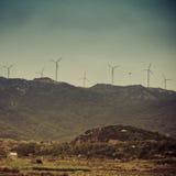 Generador de energía eólica Foto de archivo