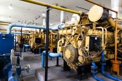 Generador de la corriente eléctrica Foto de archivo
