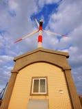 Generador de la energía eólica fotos de archivo