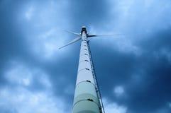 Generador de la energía eólica Imagenes de archivo