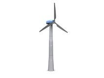 Generador de la energía eólica ilustración del vector