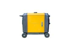 Generador de la gasolina en el fondo blanco Fotografía de archivo libre de regalías