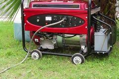Generador de poder movible Fotografía de archivo libre de regalías