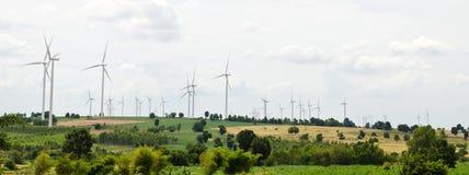 Generador de turbina de viento Imagen de archivo libre de regalías