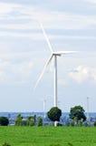 Generador de turbina de viento Fotografía de archivo libre de regalías