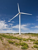 Generador de viento Fotos de archivo libres de regalías